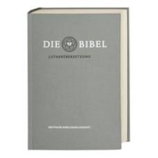 Bibel (Luther 2017) Taschenausgabe mit Apokryphen, silbergrau