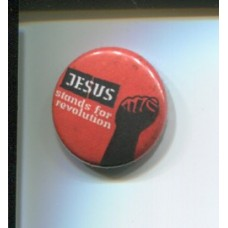 Button Jesus stands for Revolution