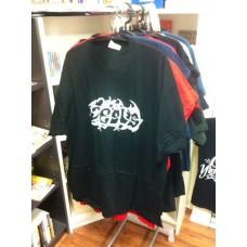 T-Shirt Jesus Tribal weiß auf schwarz