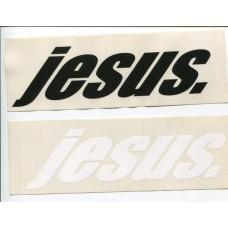 Aufkleber jesus.
