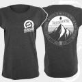 T-Shirt Mountain (Girlie) dunkelgrau