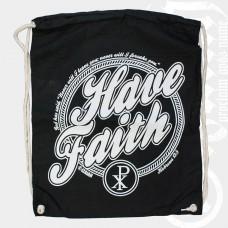 Gymbag / Turnbeutel HAVE FAITH