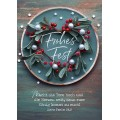 Postkarte Frohes Fest - Mache die Tore