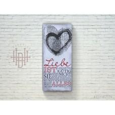 Bild Liebe (Fingerabdruck)