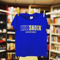 T-Shirt Kultshock - Klub und Kirche (Kinder) ROYALBLAU