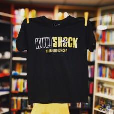 T-Shirt Kultshock - Klub und Kirche (Kinder) SCHWARZ