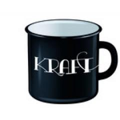 """Tasse Emaille """"Kraftvoll"""""""