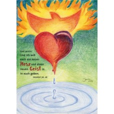 Postkarte Neues Herz (Jahreslosung 2017)