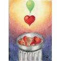 Postkarte Wiederherstellung des Herzens