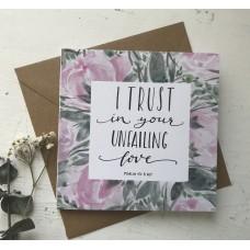 Klappkarte Unfailing Love