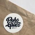 Aufkleber Pure Grace
