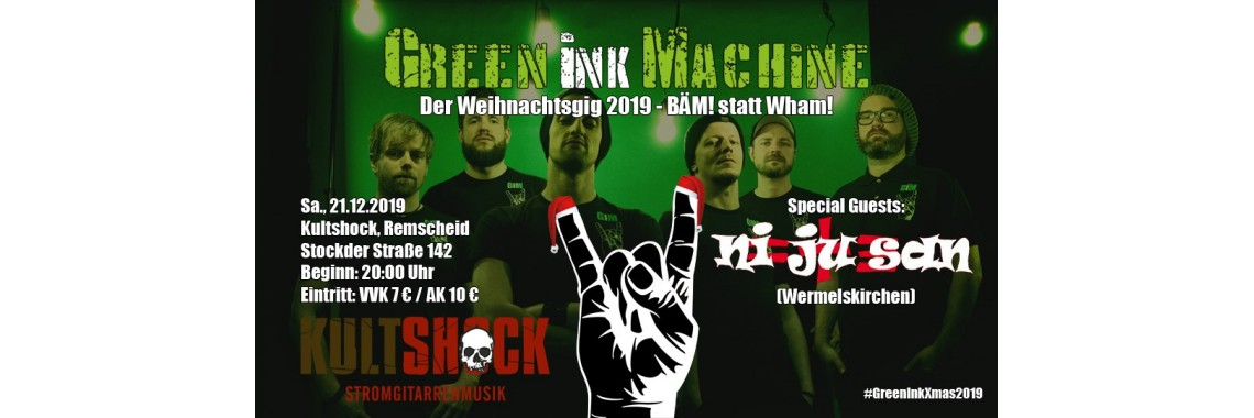 Green Ink Machine 2019