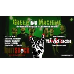 Green Ink Machine - Der Weihnachtsgig 2019 am 21.12.2019