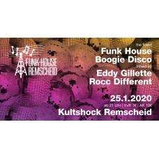 Funk-House Remscheid mit Eddy Gilette und Rocc Different am 25.01.20