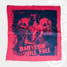 Aufnäher Babylon will Fall