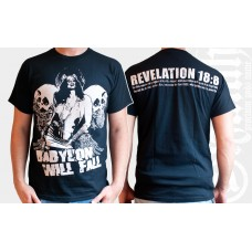 T-Shirt Babylon will fall (Girlie)