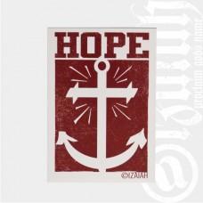 Aufkleber Hope