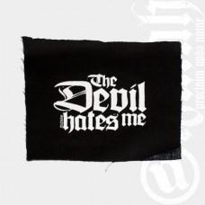 Aufnäher The Devil hates me