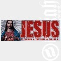 Aufkleber Jesus - The Way - The Truth - The Life