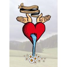 Postkarte Guard your Heart