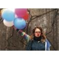 Postkarte Ballons